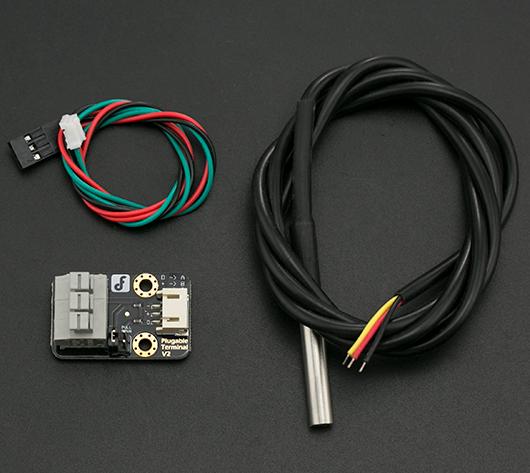DFRobot 防水温度传感器