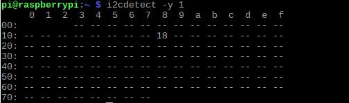 step 7:检测到总线上的I2C设备