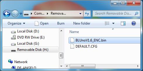 BLUNO Firmware update