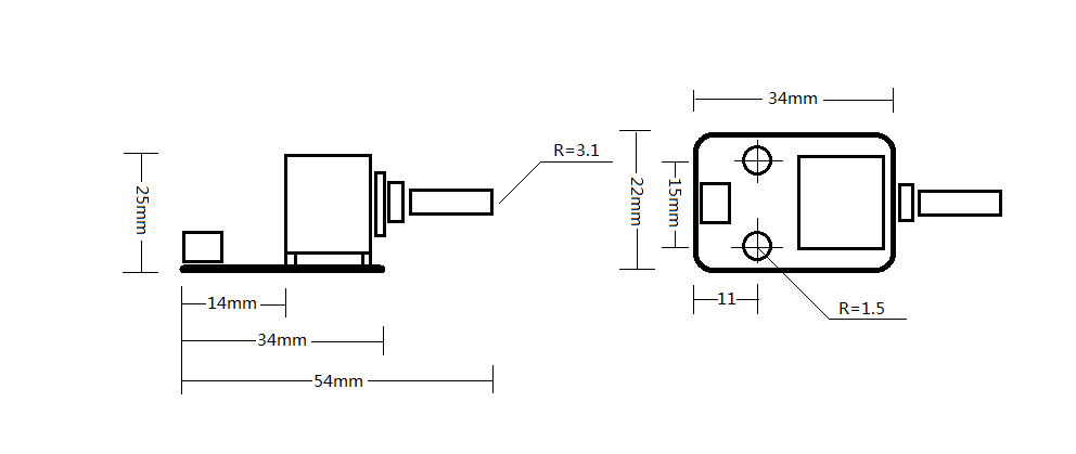 Analog sensor connection diagram