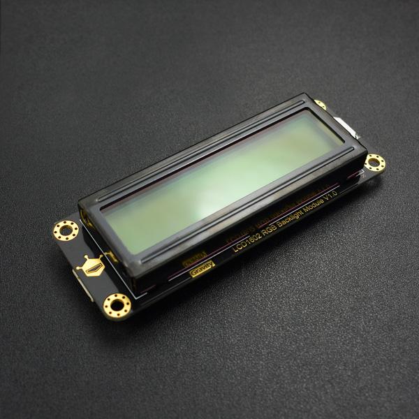 Gravity: I2C LCD1602 RGB 彩色背光液晶屏