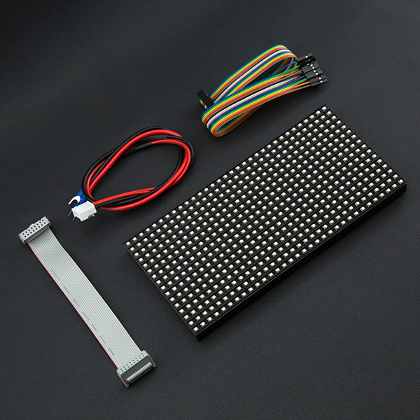 32x16 RGB LED Matrix - 6mm pitch