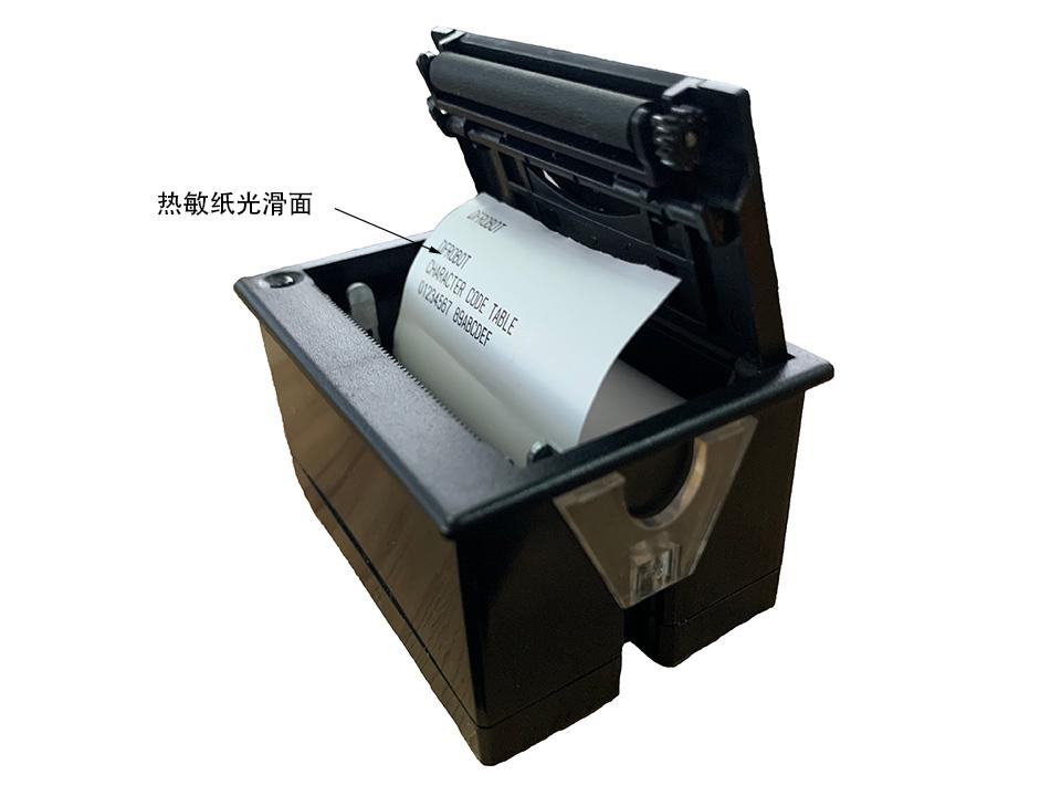 DFR0503热敏打印纸装入示意图