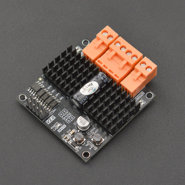 DFR0601 双通道直流电机驱动板 12A