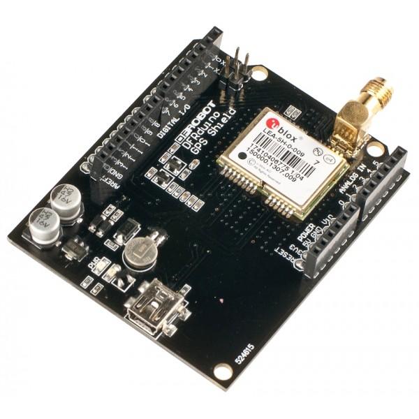 DFRduino GPS Shield-LEA-5H(SKU:TEL0044)