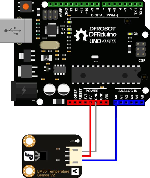 模拟传感器连接图