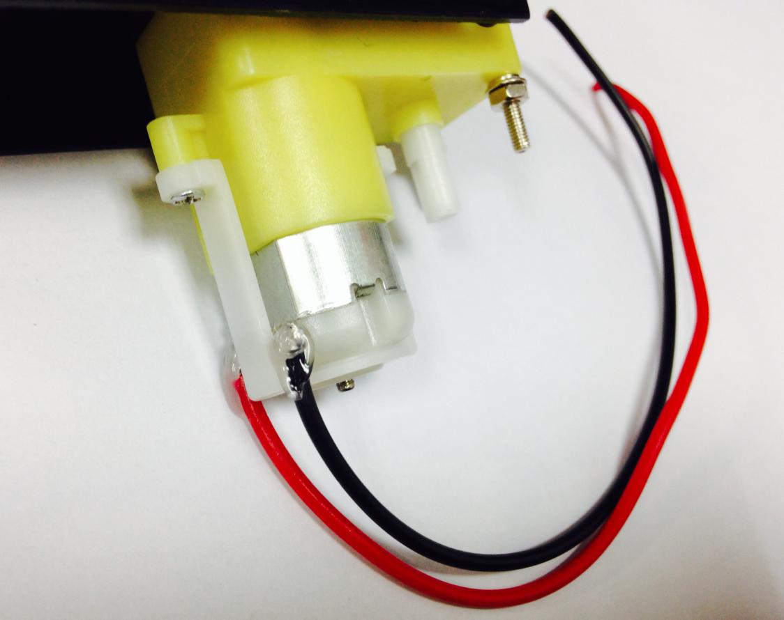 焊接电机线