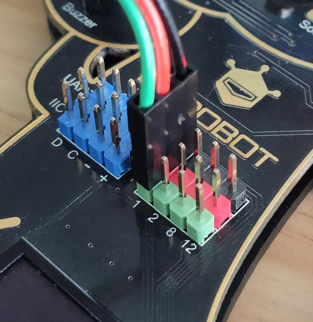 RGB灯模块接线