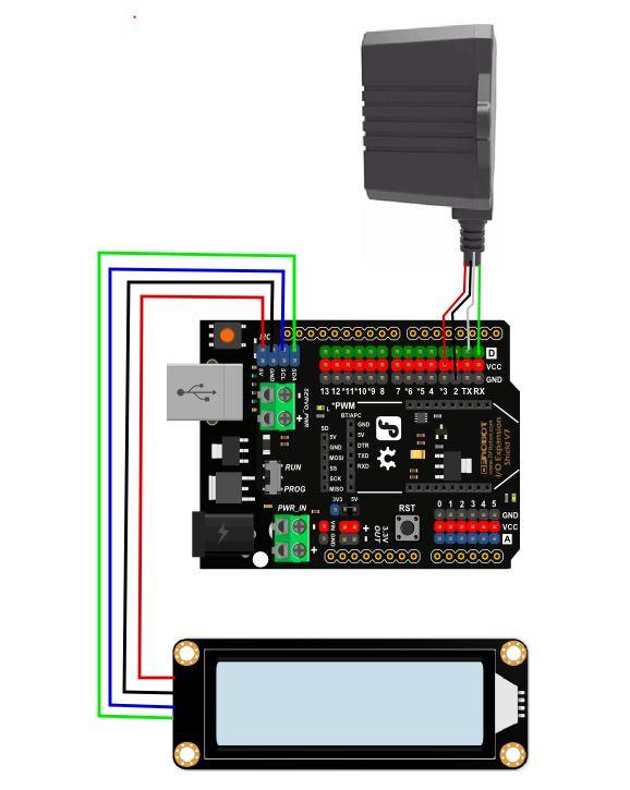 LCD显示接法