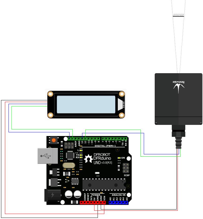 TF03 LCD显示接法