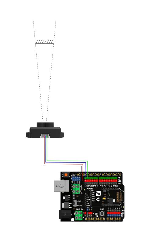 TF Mini串口显示接法